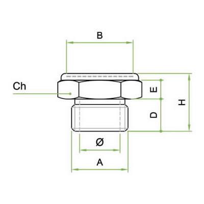 Silenziatore SETM con rete microforata inox AISI 316L