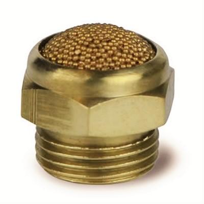 Silenziatore SCE con cupola in bronzo sferico sinterizzato