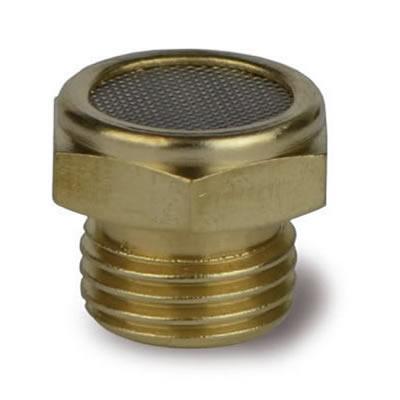 Silenziatore SERM con rete microforata in acciaio inox AISI 304