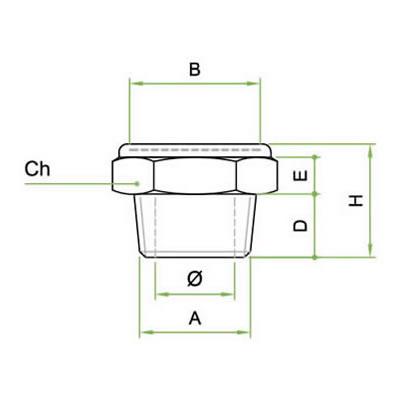 Silenziatore SMEX/N con rete microforata inox AISI 316L