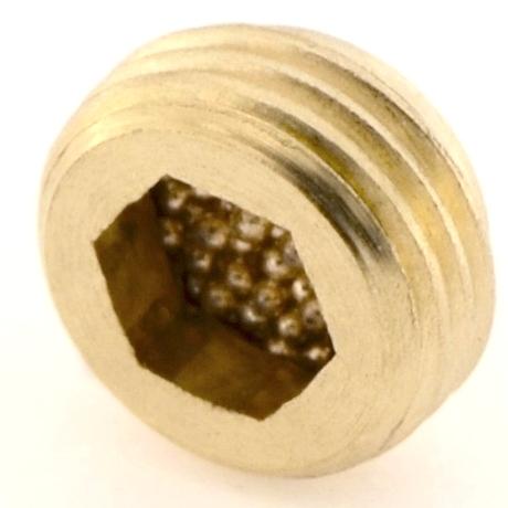Silenziatore SPB con pastiglia in bronzo sferico sinterizzato