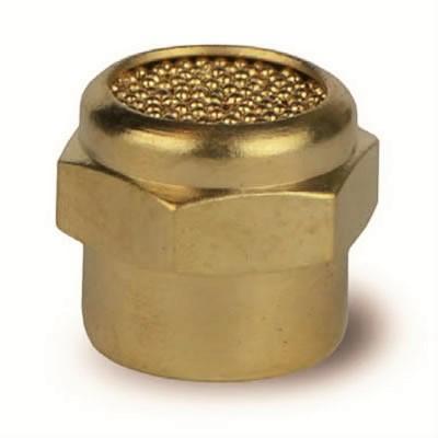 Silenziatore SPEF con pastiglia in bronzo sferico sinterizzato