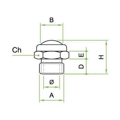 Silenziatore SRE con rete microforata in acciaio inox AISI 304