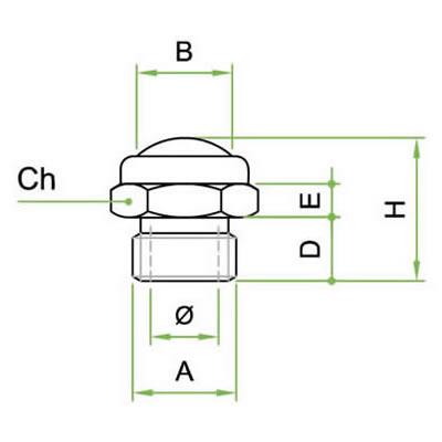 Silenziatore SREX con cupola in filo inox AISI 316L