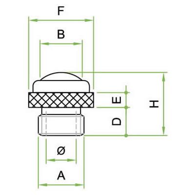 Silenziatore SRZ con cupola in filo inox AISI 304