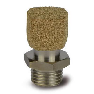 Valvola TSI regolatrice in acciao nichelato con corpo regolatore in bronzo sferico sinterizzato